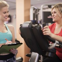 Weight Management Practitioner with PT Client