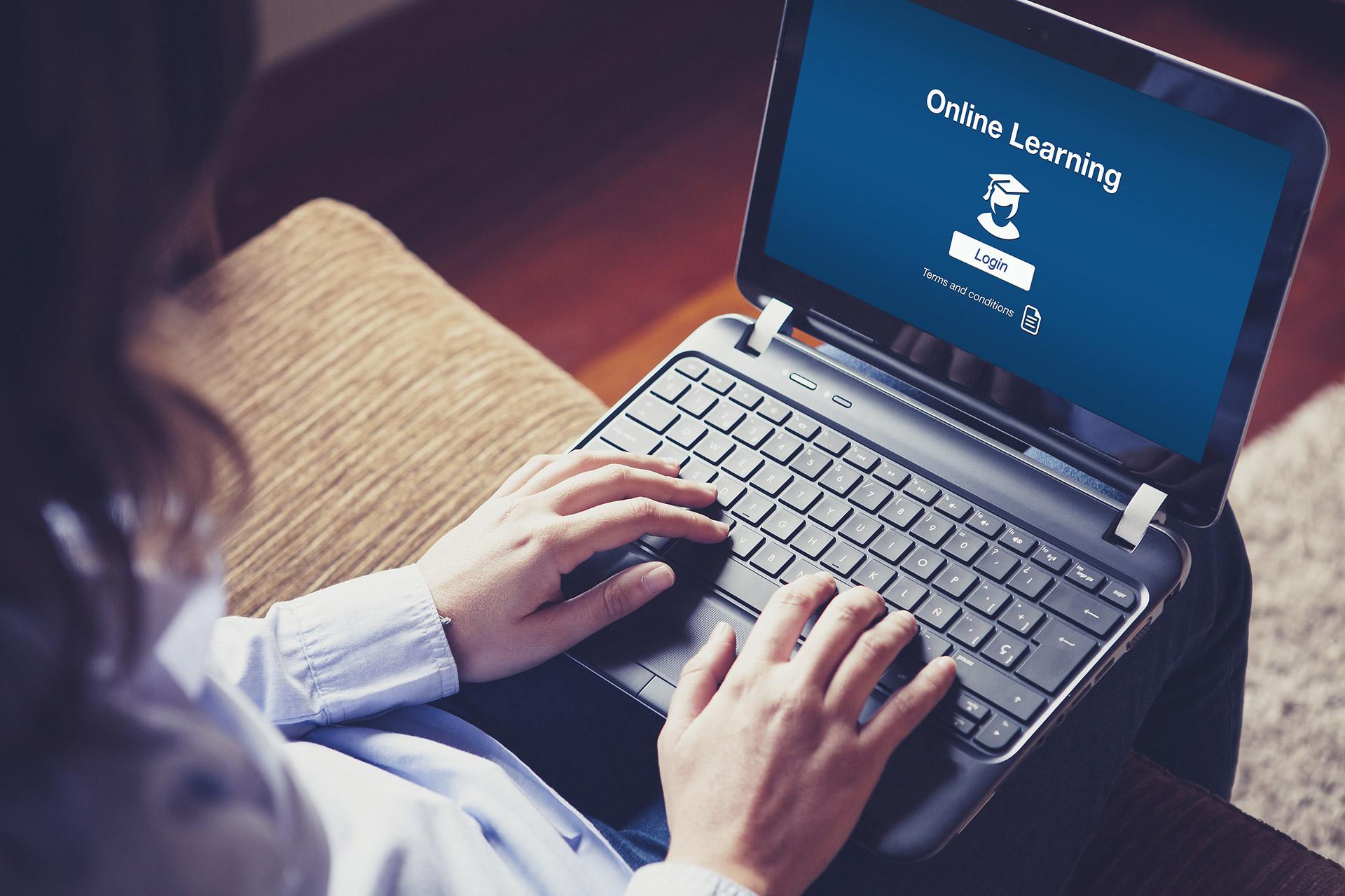 study online laptop