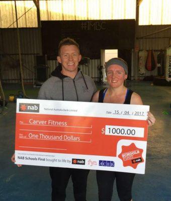 Carver Fitness - Kris Morris, Onfit Graduate
