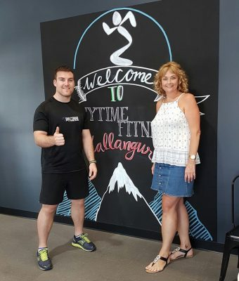 Lachlan Creighton Anytime Fitness Onfit Graduate
