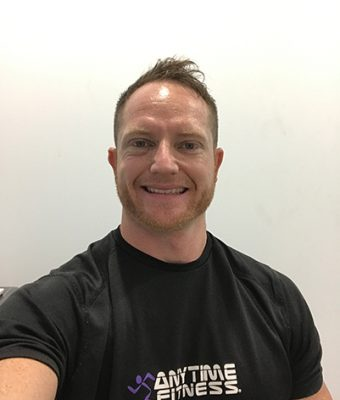 Sean Gwyn Anytime Fitness Rocklea Onfit Alumni Achievements