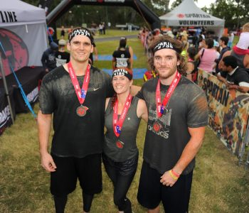 Rob, Jackie & Chris at Spartan